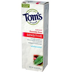 Tom's of Maine Fluoride-Free Sensitive Toothpaste