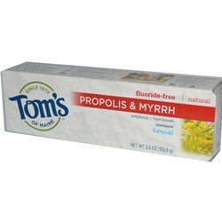 Tom's of Maine Natural Antiplaque- Propolis and Myrrh Toothpaste