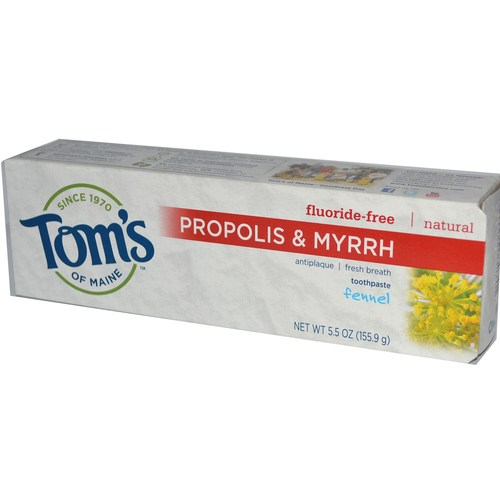 Natural Antiplaque- Propolis and Myrrh Toothpaste