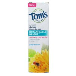 Tom's of Maine Botanically Bright Whitening Toothpaste