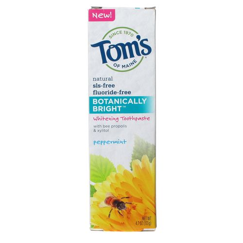Tom's of Maine, Creme Dental Clareador - Botanically Bright™ - 4.7 oz (133g)