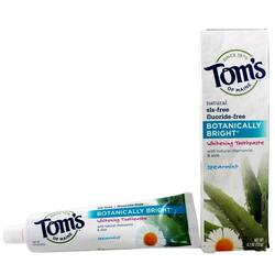 Tom's of Maine Botanically Bright Whitening Toothpaste