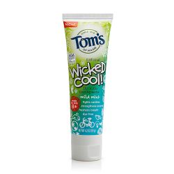 Tom's of Maine Wicked Cool! Fluoride Toothpaste