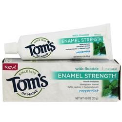 Tom's of Maine Natural Toothpaste Enamel Strength with Fluoride
