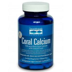 Trace Minerals Research Coral Calcium with ConcenTrace