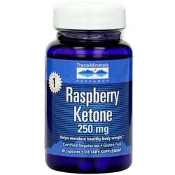 Trace Minerals Research Raspberry Ketone 250 mg