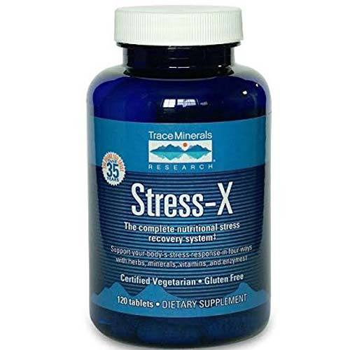 Trace Minerals Research Stress-X  - 120 Tablets