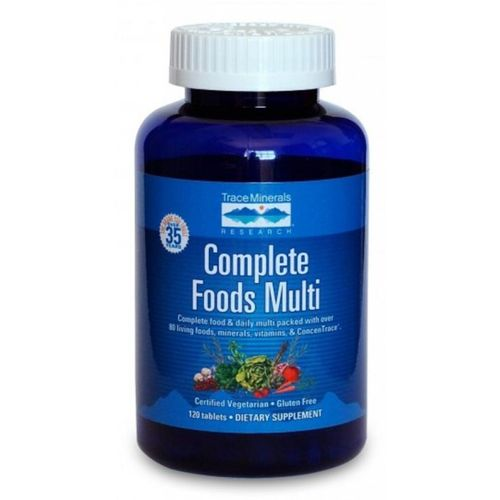 Trace Minerals Research Complete Foods Multi  - 120 Tablets