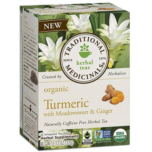 Organic Turmeric with Meadowsweet and Ginger