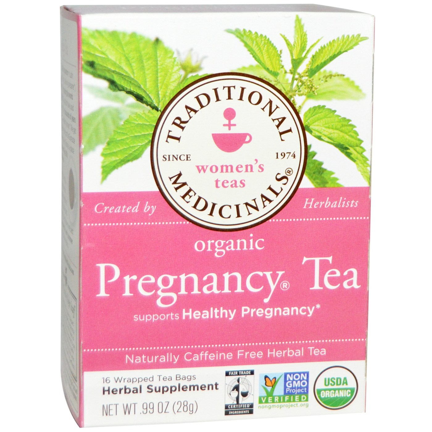 Traditional Medicinals Women S Teas Pregnancy 16 Bags Evitamins Com