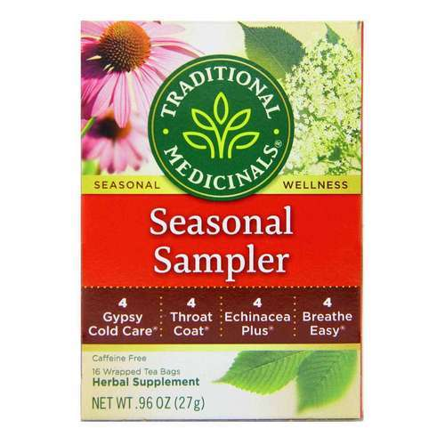 Traditional Medicinals Seasonal Tea Sampler - 16 bags - 5892_front2020.jpg