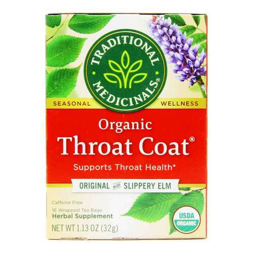 Traditional Medicinals Seasonal Tea - Throat Coat - 16 bolsitas de té - 5894_front2020.jpg