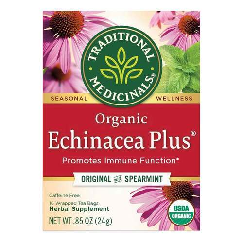 Traditional Medicinals Seasonal Tea Echinacea - Plus - 16 bolsitas - 5896_front2020.jpg