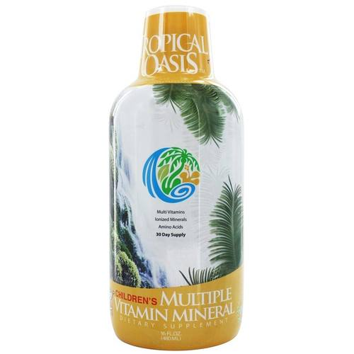 Tropical Oasis Enfants Multi-vit/mineral 16 oz