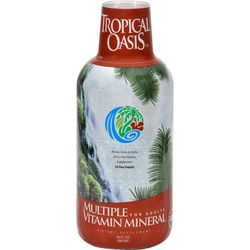 Tropical Oasis Liquid Multiple Vitamin Mineral For Adults
