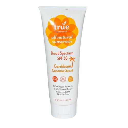 All Natural Broad Spectrum Sunscreen SPF 30