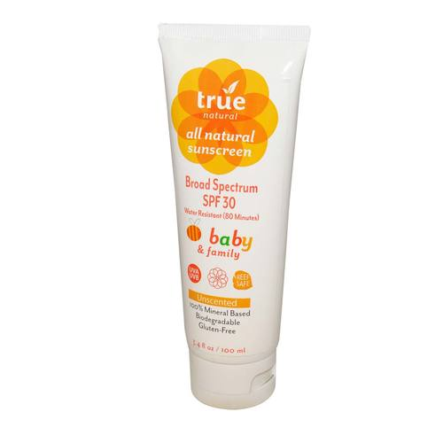 Baby and Family Broad Spectrum Sunscreen SPF 30
