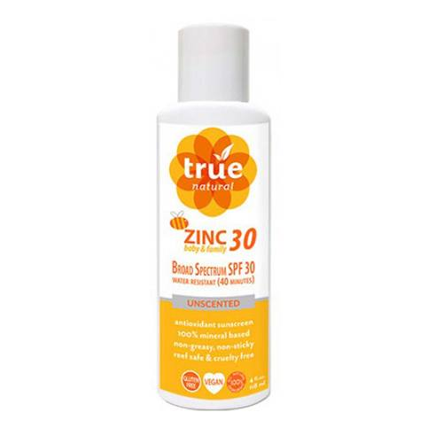 Zinc SPF 30 Baby and Family Broad Spectrum