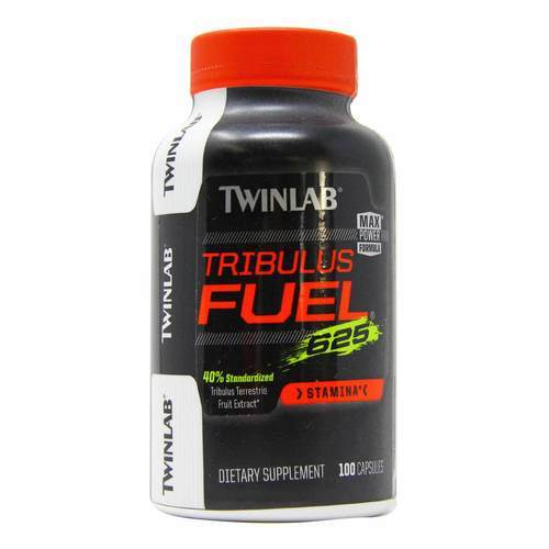 Twinlab Tribulus Fuel - 625 mg - 100 Capsules - 1529_front2020.jpg