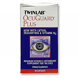 Twinlab Ocuguard Plus with Lutein- Zeaxanthin  Vitamin D3