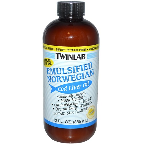 Emulsified Norwegian Cod Liver Oil