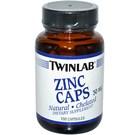 Twinlab Zinc Caps 30 mg - 100 capsules