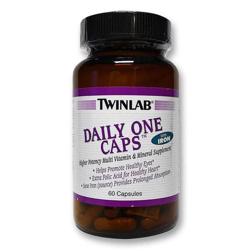 Twinlab Daily One Caps  - 60 Capsules - 20110817_33.jpg