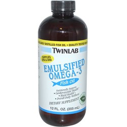 Twinlab Emulsified Omega-3 Fish Oil