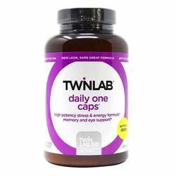 Twinlab Daily One Multivitamin and Mineral Supplement without Iron