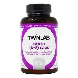 Twinlab Niacin (B-3) Caps