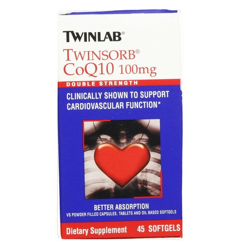 Twinsorb CoQ10 100 mg