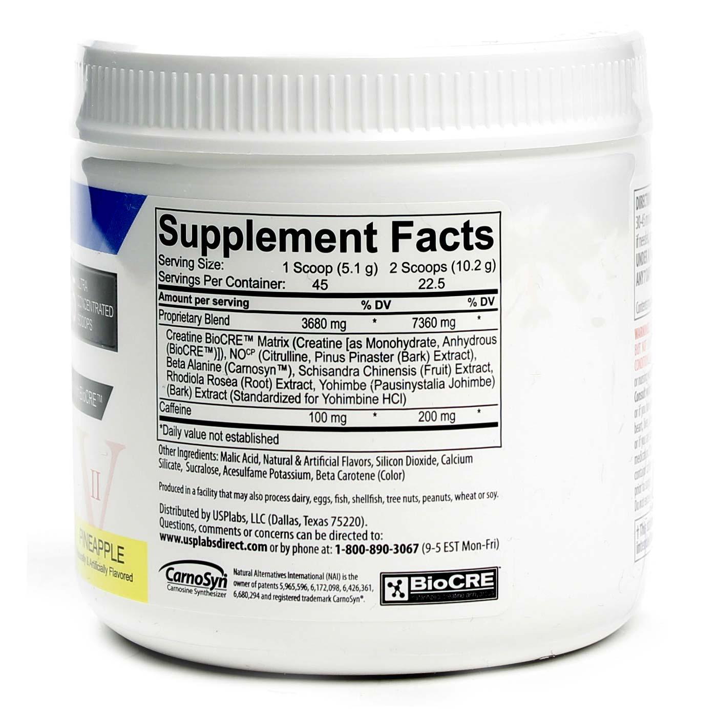 USP Labs Jack3d CNS Stimulant