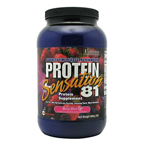 Protein Sensation 81, Berry Blast