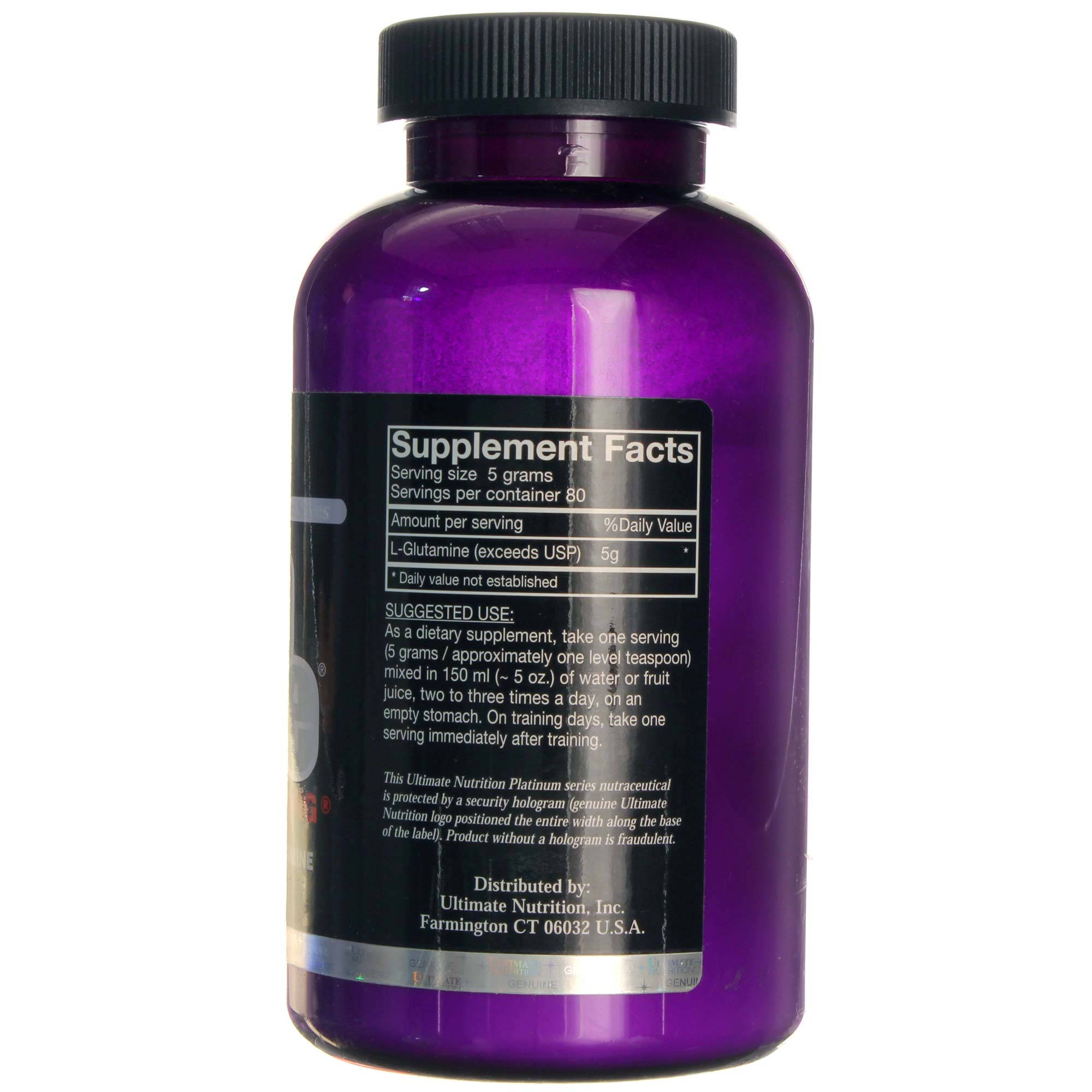 Ultimate Nutrition Glutapure 400 G Evitamins India Bcaa 500mg 120 Caps View Image