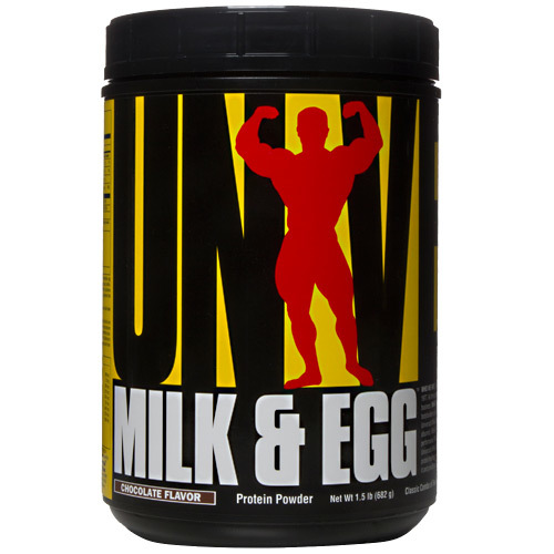 Universal Nutrition Milk  Egg Chocolate - 1.5 lb