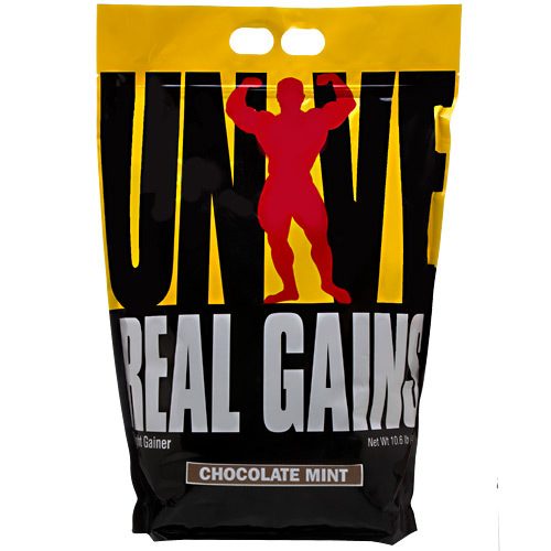Universal Nutrition Real gains Chocolate Mint - 10.6 lbs