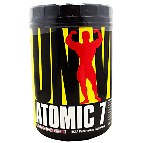 Universal Nutrition Atomic 7 Black Cherry - Bomb - 2.2 lbs