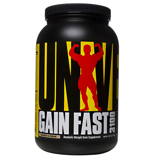 Universal Nutrition Gain Fast 3100 Cookies & Cream - 2.5 lbs