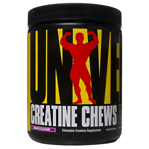 Universal Nutrition Creatine Chews Grape - 144 chewables