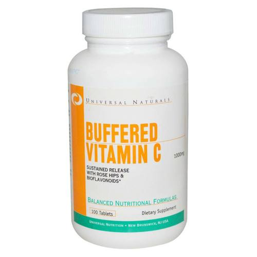 Universal Nutrition Buffered Vitamin C Liberación sostenida - 1,000 mg - 100 tablets - 319772_01.jpg