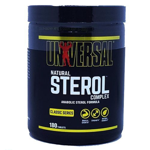 Universal Nutrition Natural Sterol Complex  - 180 Tablets - 4198_front.jpg