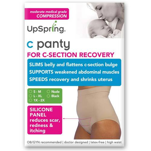 UpSpring High Waist Incision Care C-Panty Negro - 1X/2X (size 18-24) - 116214_0.jpg