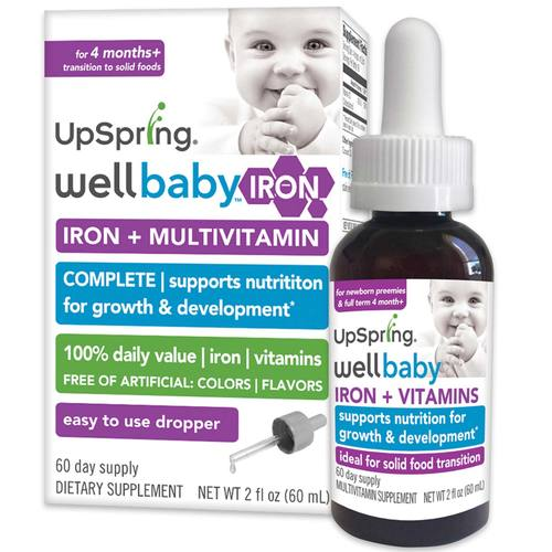 WellBaby Multivitamin plus Iron Supplement