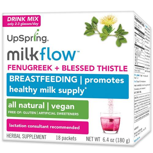 Milkflow Fenugreek  Blessed Thistle Drink Mix