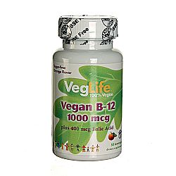 VegLife Vegan B12 and Folic Acid