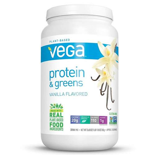 Vega Protein and Greens Vainilla - 26.8 oz - 102941_front.jpg