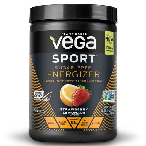 Vega Sport Sugar-Free Energizer Strawberry Lemonade - 4.3 oz - 102963_front.jpg