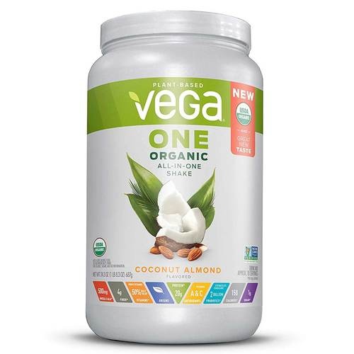Vega One Organic All-in-One Shake Coconut Almond - 24.3 oz - 352326_front.jpg