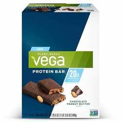 Vega Plant Based Protein Bar Chocolate Peanut Butter