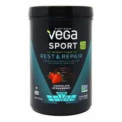 Vega Sport Nighttime Rest  Repair Chocolate Strawberry